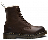 DR. MARTENS SERENA DARK BROWN WYOMING (OCIEPLANE)