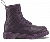 DR. MARTENS CORALIE QUILTED MONO PURPLE