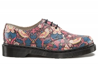 DR. MARTENS 1461 NAVY + CHERRY STRAWBERRY