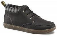DR. MARTENS ECLECTIC SHELDON BLACK GREASY