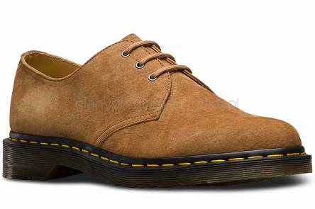 DR. MARTENS 1461 SOFT BUCK TAN