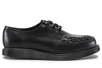 DR. MARTENS CREEPER RAMSEY BLACK + BLACK PATENT
