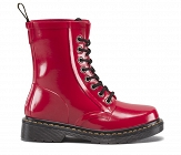 DR. MARTENS WELLIES DRENCH PATENT RED