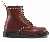 DR. MARTENS FALLON CHERRY RED STUD
