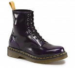 DR. MARTENS 1460 VEGAN PURPLE CAMBRIDGE BRUSH