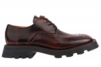 TREDAIR T2676/4 BROWN RUB OFF 4 EYE TIE SHOE