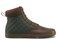 DR. MARTENS ECLECTIC EDUARDO QUILTED BROWN