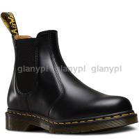 DR. MARTENS 2976 BLACK yellow stitching