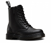 DR. MARTENS PASCAL ZIP BLACK AUNT SALLY