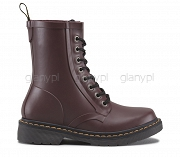 DR. MARTENS KALOSZE WELLIES DRENCH MATT CHERRY RED