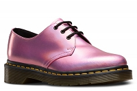 DR. MARTENS 1461 IM METALLIC LEATHER MALLOW PINK