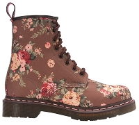 DR. MARTENS 1460 TAUPE VICTORIAN FLOWERS