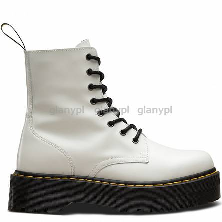 DR. MARTENS QUAD RETRO JADON WHITE POLISHED SMOOTH