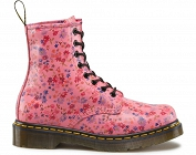DR. MARTENS 1460 LITTLE FLOWERS ACID PINK