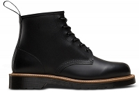 DR. MARTENS 101 Z SMOOTH STRAW GRAIN BLACK BOOT