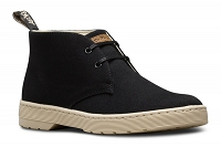 DR. MARTENS CRUISE MAYPORT OVERDYED TWILL BLACK