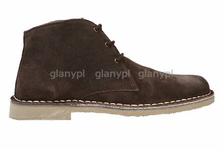 ROAMERS DESERT BOOTS M378 DARK BROWN