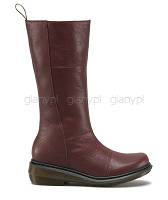DR. MARTENS MOLL CHARLA BOOT CHERRY