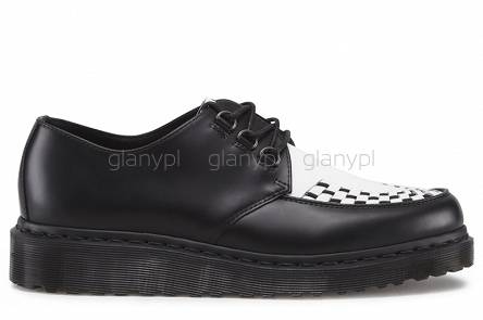 DR. MARTENS CREEPER BECK BLACK WHITE