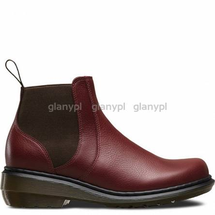 DR. MARTENS MOLL PAMELA CHERRY RED