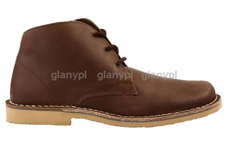 ROAMERS DESERT BOOTS M378 BROWN OILED LEATHER