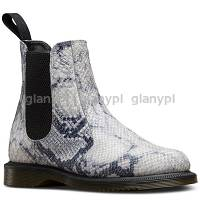DR. MARTENS KENSINGTON FLORA LIGHT GREY ASCIANO