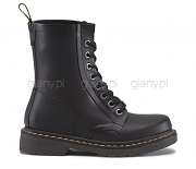 DR. MARTENS KALOSZE WELLIES DRENCH MATT BLACK