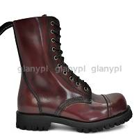 ALTERCORE BOOTS & SHOES CR551 BURGUNDY RUB OFF