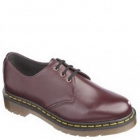DR. MARTENS 1461 VEGAN CHERRY RED FELIX RUB OFF
